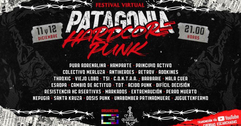 La Patagonia chilena y argentina se une en inédito festival hardcore-punk