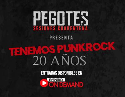 """Pegotes celebra los 20 años del """"Tenemos punk rock"""" en vivo"""